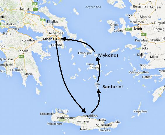 guide to greek island hopping