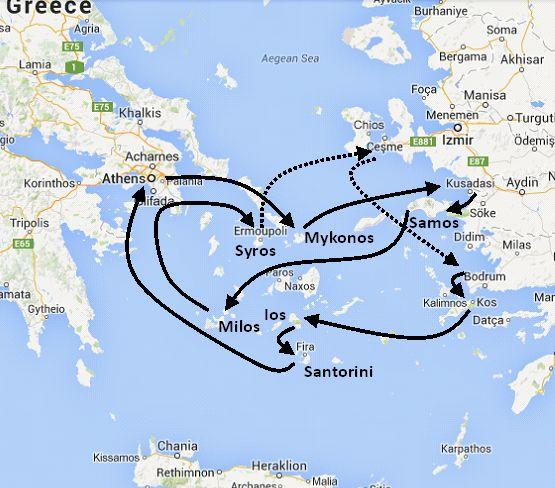 7 Day Greek Island And Turkey Cruise Mediterranean Cruise