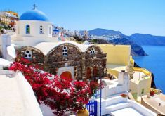 Fira Town, Prehistoric Museum and Oia Village
