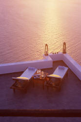 romantic sunsets in greece, dream honeymoon in greece, greek island honeymoon